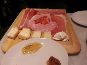 Charcuterie at Eataly